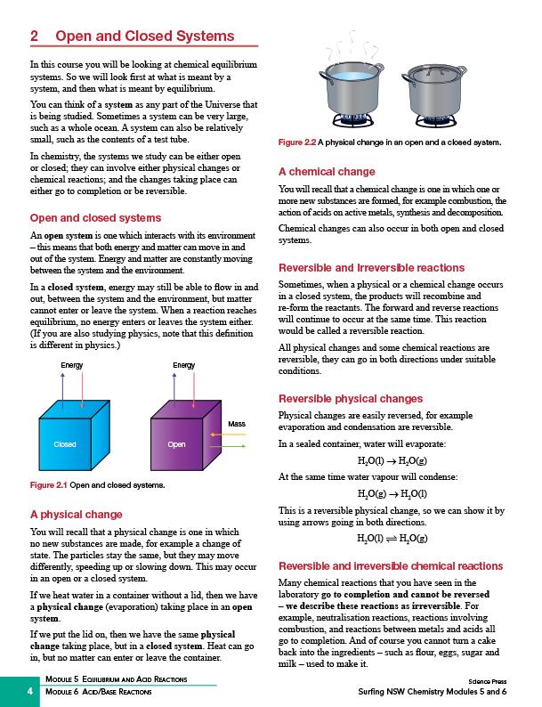 NSW SURFING Chemistry Modules 5 & 6