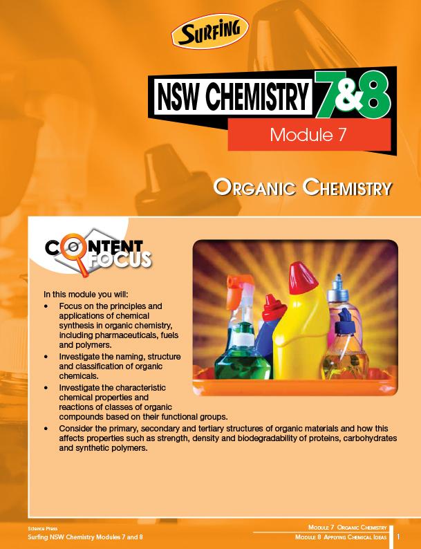 Module 7 Hsc Chemistry